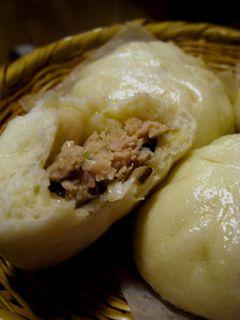 名古屋コーチン肉まん(酒粕酵母) : キシノウエンの 今日のてしごと