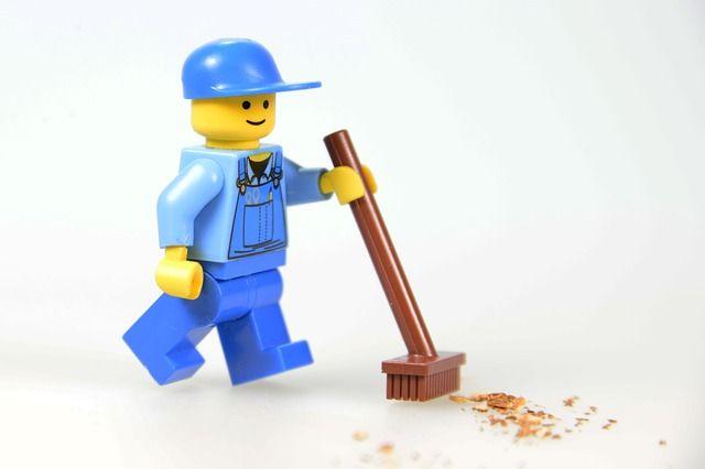 ¿Quién se encarga de la #limpieza en la industria de la #construcción?