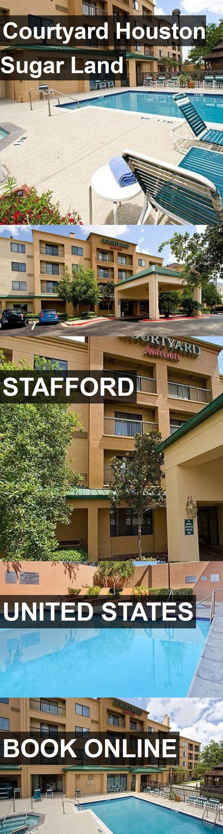 Hotel Courtyard Houston Sugar Land in Stafford, United States. For more information, photos, reviews and best prices please follow the link. #UnitedStates #Stafford #CourtyardHoustonSugarLand #hotel #travel #vacation