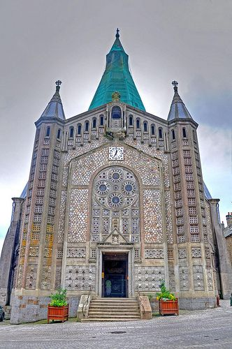 Church of Concrete--Normandy France