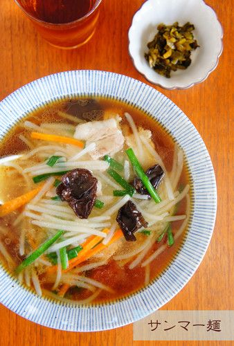 サンマー麺☆市販のラーメン使用で by せつぶんひじき [クックパッド] 簡単おいしいみんなのレシピが227万品