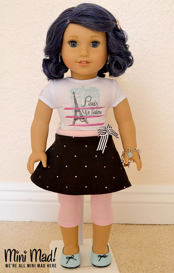 MINI MAD - wereallminimadhere.wordpress.com  Custom American Girl Doll - Marinette Dupain-Cheng (from Miraculous Ladybug / Miraculous: Tales of Ladybug and Cat Noir)