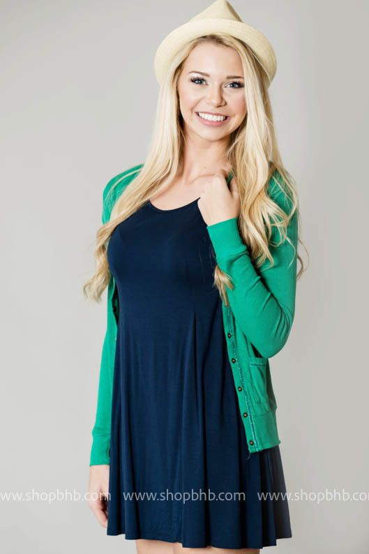 Bad Habit Boutique - Wade in the Water Scoop neck Sundress | Navy, $29.00 (http://www.shopbhb.com/wade-in-the-water-scoop-neck-sundress-navy/)