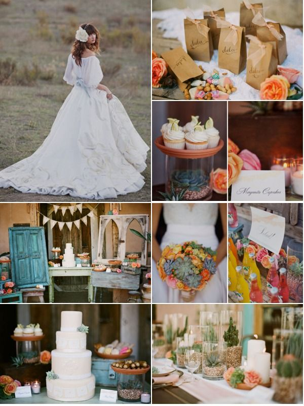 Another Mexican Themed Wedding Done Elegantly Check Out The Cupcakes