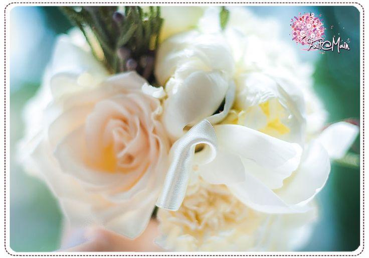 """Chantilly"" Bridesmaid Bouquet"