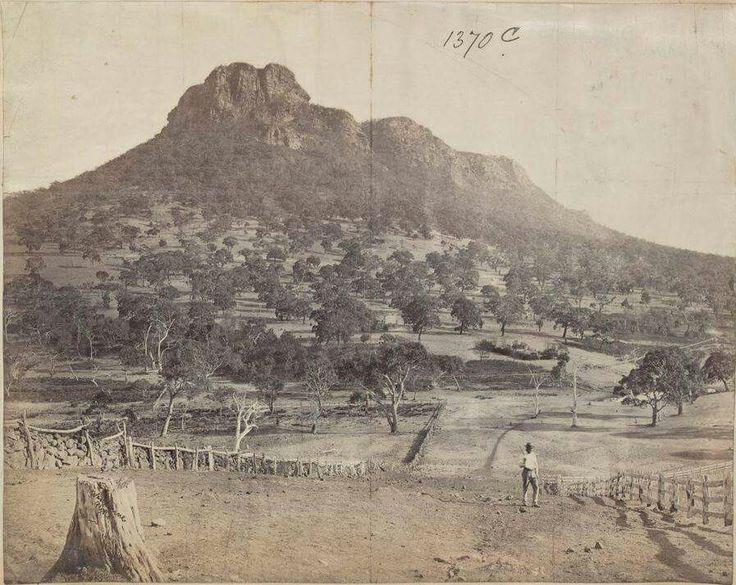 Mount Sturgeon Victoria Australia taken 1875. Victoria