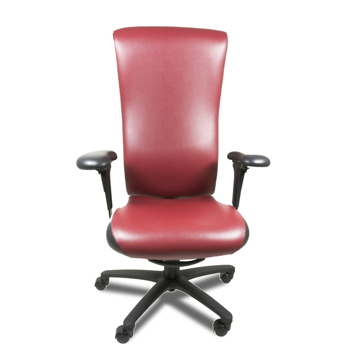 The Dolphin high back, you gotta love red leather!