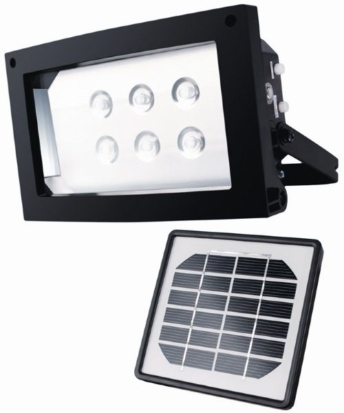 Maxsa Solar Powered Flood Light - Solar Spot Lights at Hayneedle