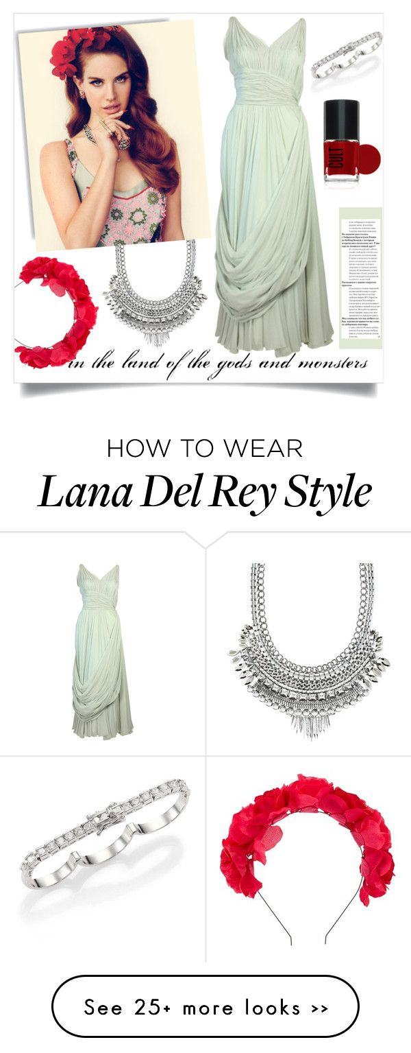 """Lana del Rey (VI)"" by sara-86 on Polyvore featuring Charlotte Russe and Maison Margiela"