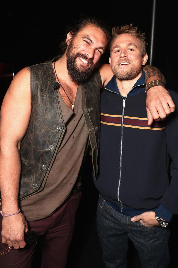 Now For the Toughest Game of Would You Rather?: Jason Momoa or Charlie Hunnam?