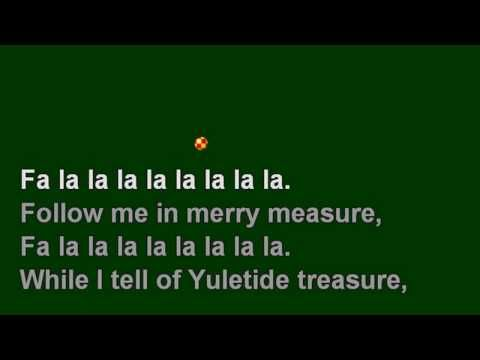 Sing with me -  Deck The Halls