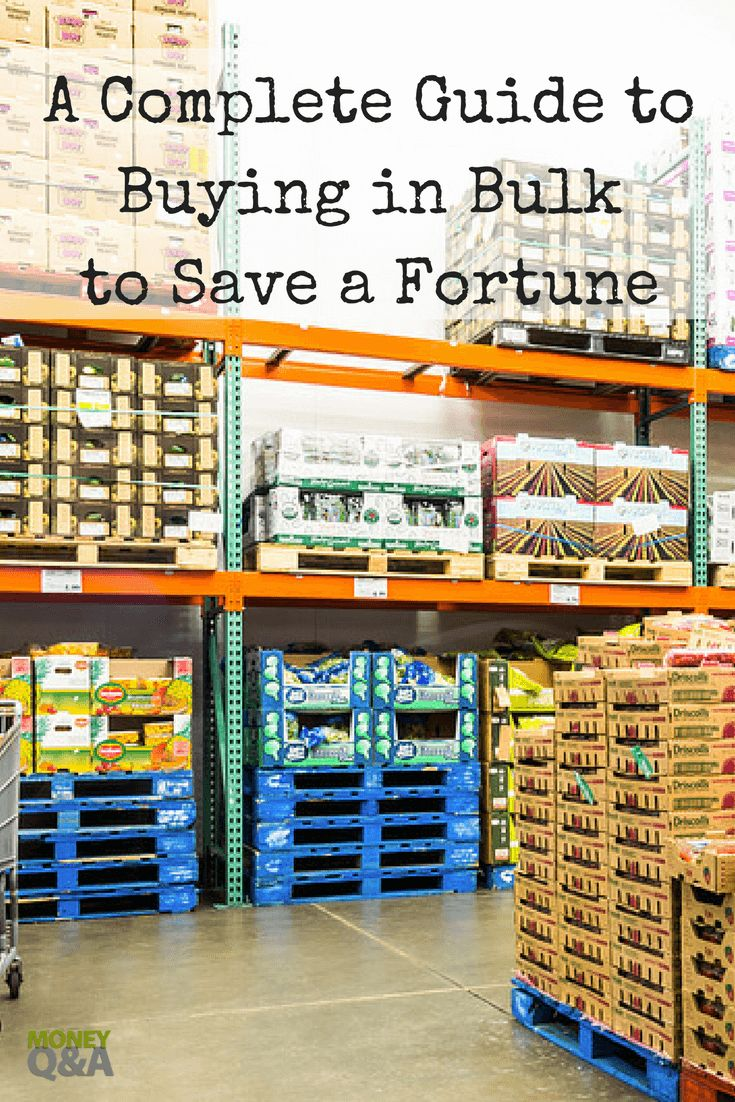 When it comes to buying in bulk to save money, the savings can be a hit or miss. By applying these strategies you can save a significant amount of money by buying in bulk.