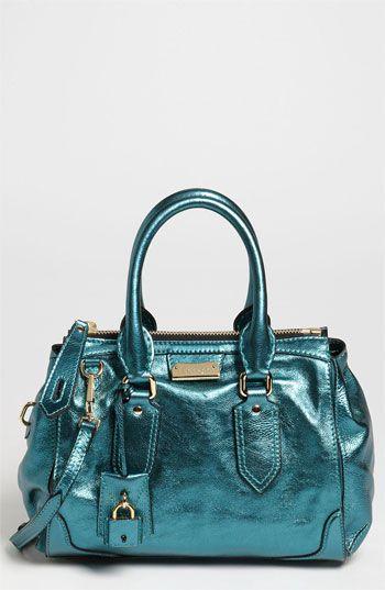 Burberry Soft Grainy Metallic Leather