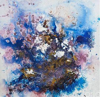 """картина масло холст Картина маслом """"Птица Феникс"""", Кристина Виверс, LegacyArt"""
