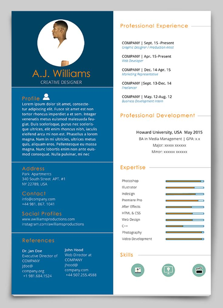 Resume Templates Indesign 4 Templates Example Templates Example Indesign Resume Template Free Indesign Resume Template Resume Design Template