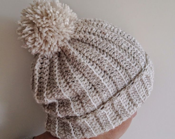 Knitting Pattern For A Ribbed Hat : 25+ best ideas about Slouchy beanie pattern on Pinterest Crochet slouchy ha...