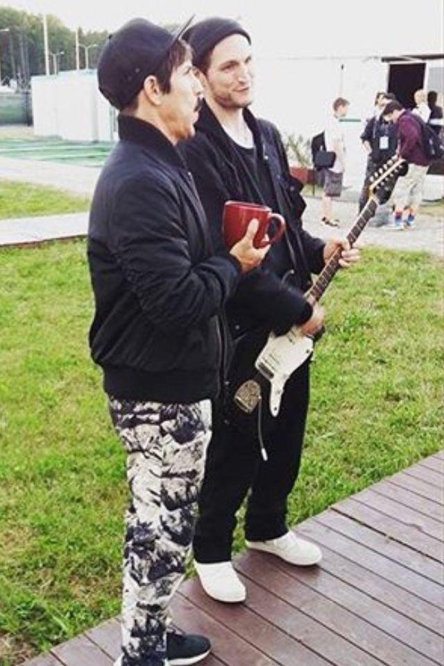 Anthony Kiedis & Josh Klinghoffer