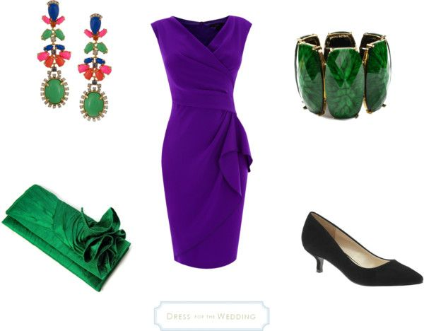 Purple and Green for a Wedding
