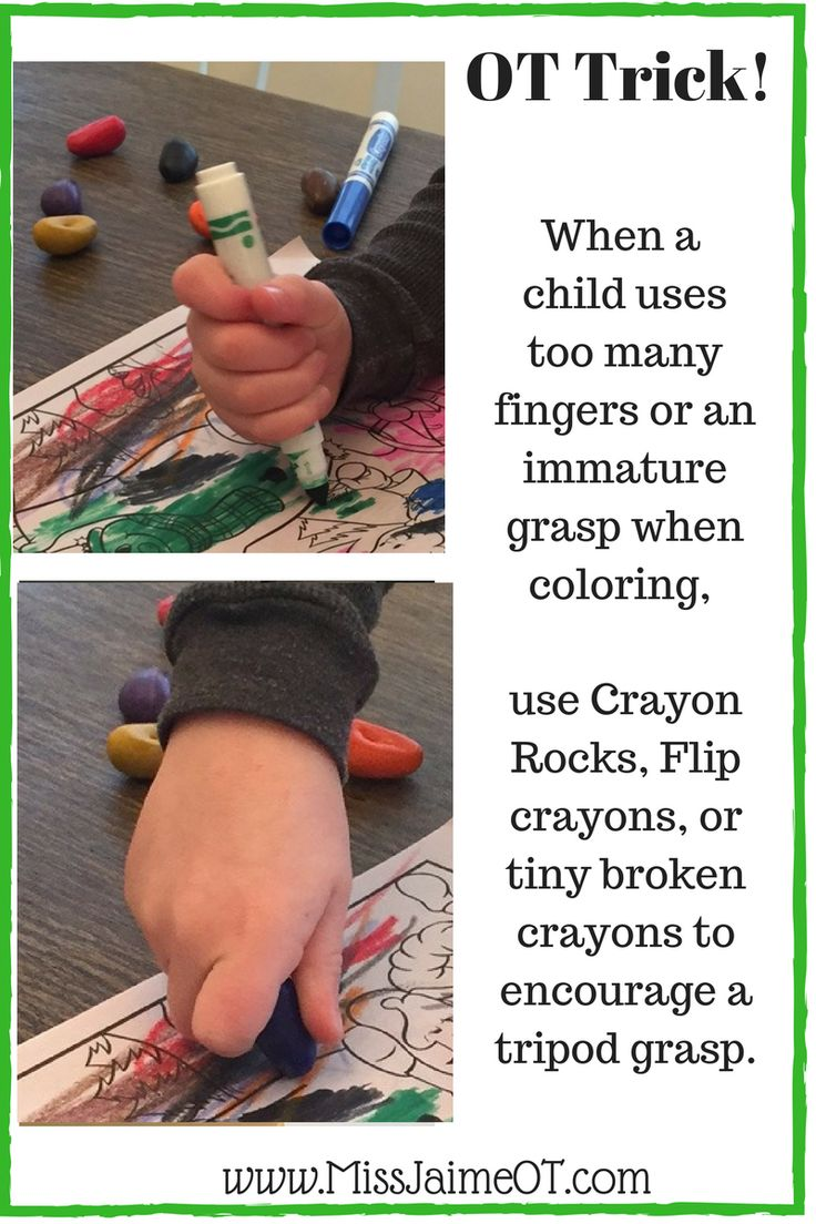 Change your child's grasp