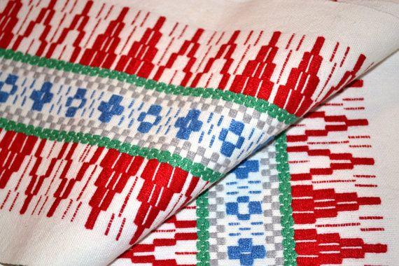 Woven scandinavian tablecloth / runner by Scandinaviavandesign, kr180.00