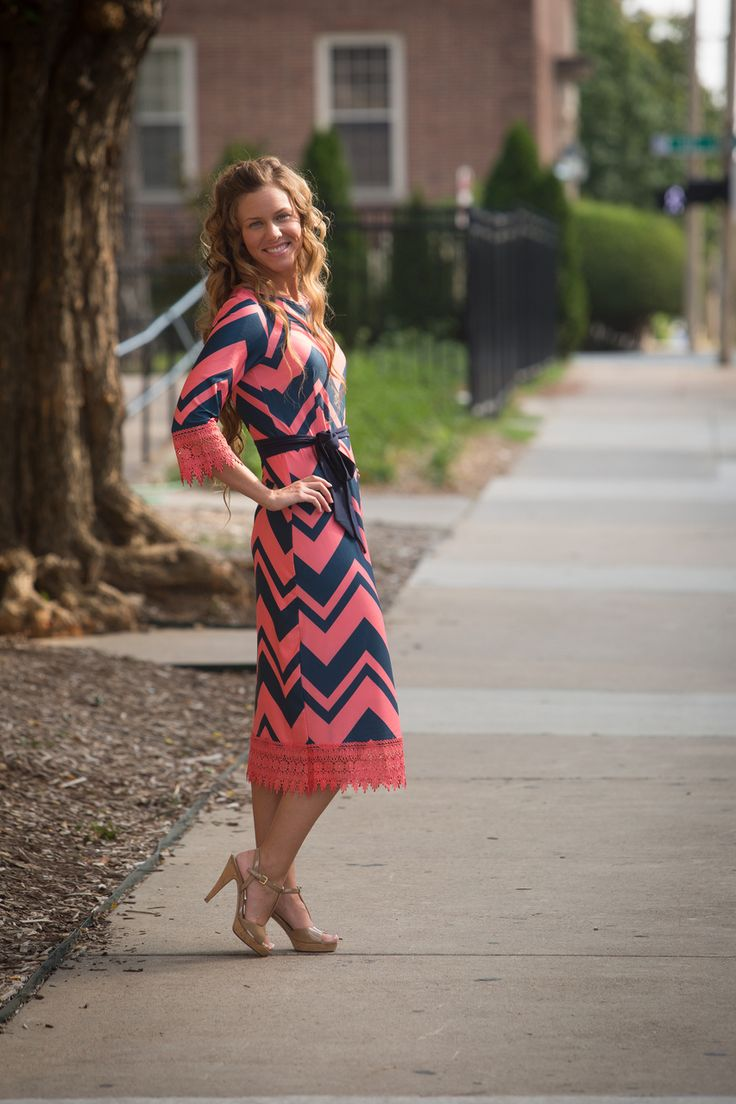 """""""A Touch of Lace"""" Dress: Dainty Jewell's Modest Apparel"""