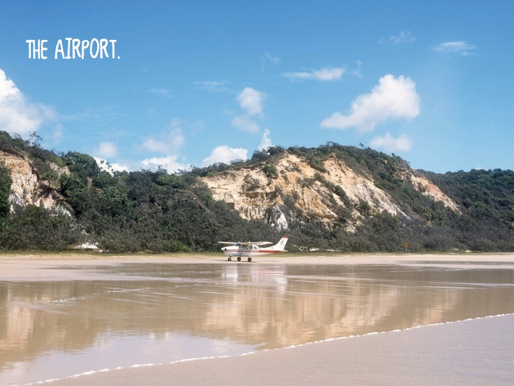 The airport - Fraser Island - Australia