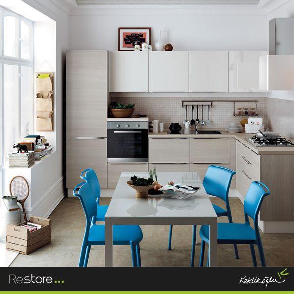 Tasarım Harikası Scavolini Restoreu0027 Da! #restore #.  HausprojekteDekorationCharakteristikaWirtschafts KüchenKüchendesignGeschenkSchönSetztCharacteristics  Of