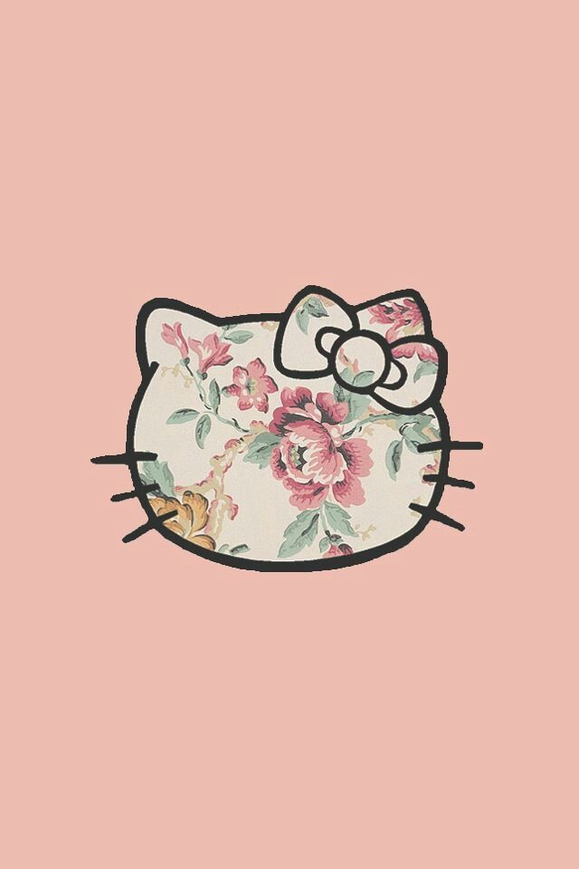 Hello kitty!, love this for my phone background.