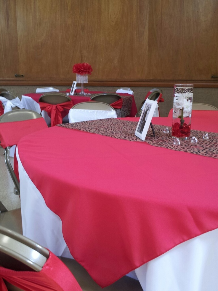 17 best images about cheetah print party decorations on pinterest runners baby shower themes - Cheetah print centerpieces ...