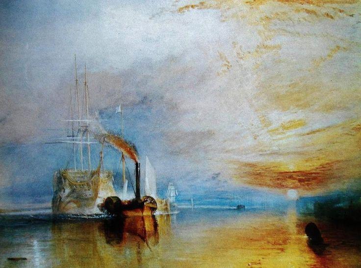 The 'Fighting Teneraire' by William Joseph Mallord Turner