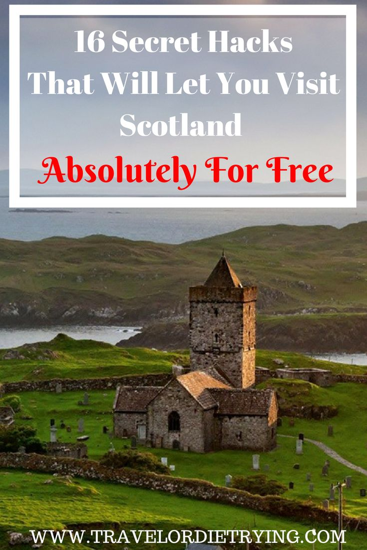 Fancy staying at a posh Highland estate or a fancy Edinburgh flat for free? Then this article is for you! #scotland #scotlandforfree #secrethacks