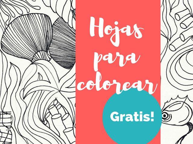 Ángela Cabrera: Hojas para Colorear!!!