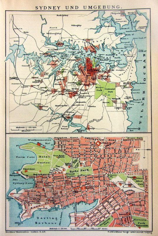 57 best Antique City prints images on Pinterest Antique maps