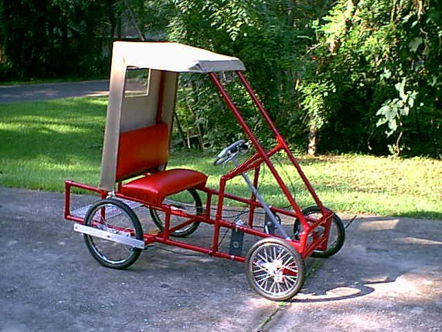 pvc pedal car good wheels pinterest homemade sun