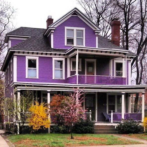 Purple Rain Dreamin House Colors Purple Home Exterior House Color