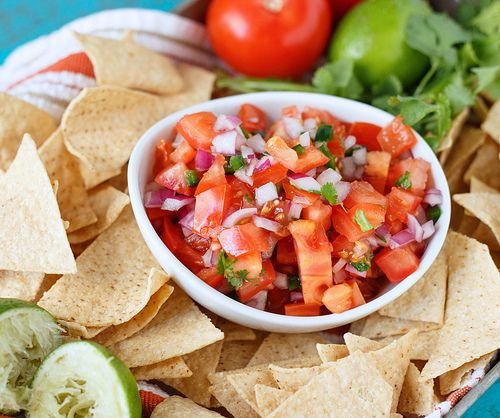 Simple Pico de Gallo | Recipe | Pico De Gallo, Simple and Recipe