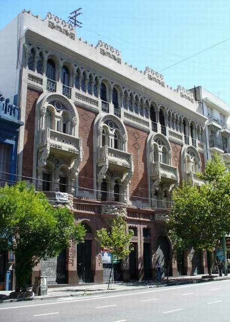 La casa de los pavos reales. Buenos Aires