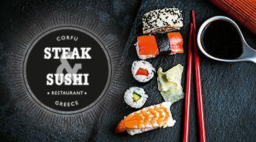 #STEAK & #SUSHI #luxuryDinner #gourmet