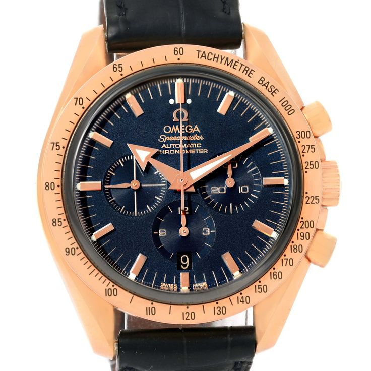 Omega Speedmaster Broad Arrow Rose Gold Limited Edition Watch 178.0022