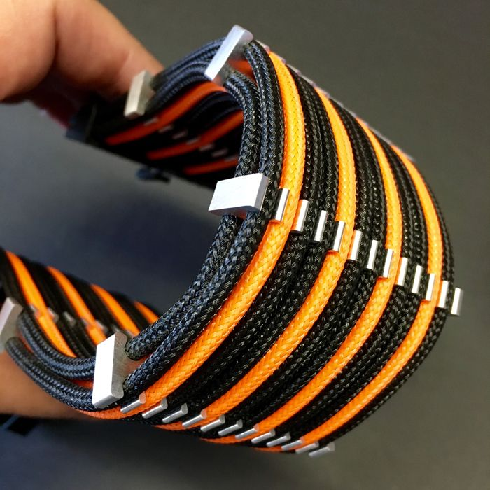 24 Pin Atx Stealth Billet Cable Comb For Single Sleeve 3mm