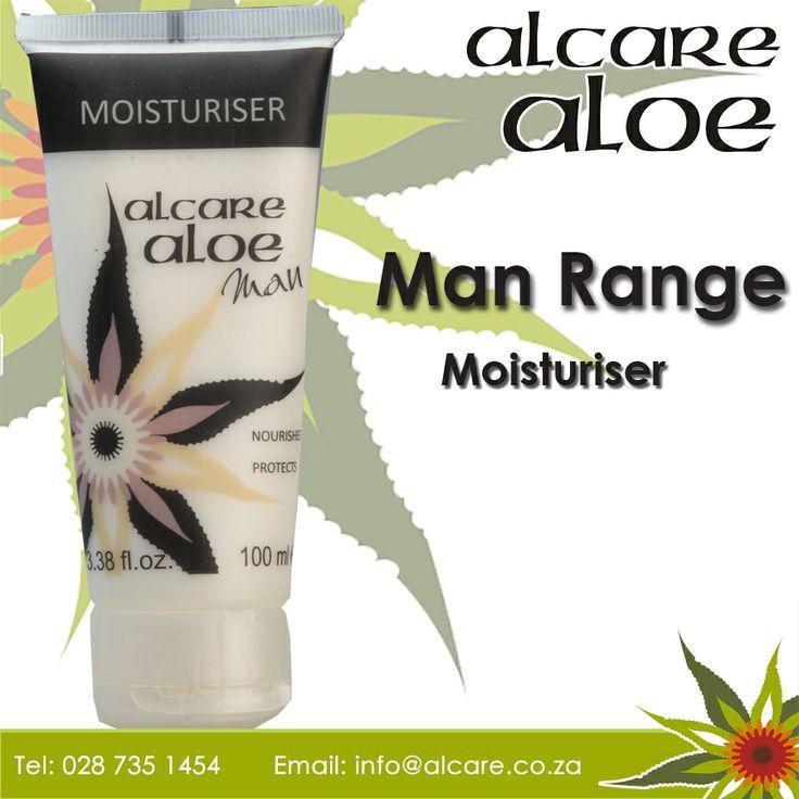 Alcare Aloe now have a range for range for Men Moisturiser. A complex formulation that moisturises and nourishes your skin, protecting it against moisture loss, leaving it smooth and supple.  Order online: http://on.fb.me/1fJVdeb #men #range #Moisturiser