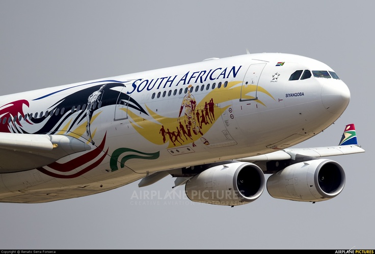 South African Airways (ZS-SXD) - Waterkloof.
