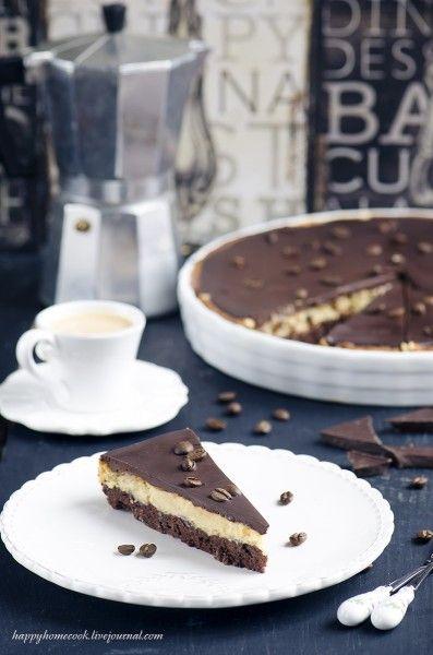 love to bake! - Трижды-кофейный шоколадный тарт