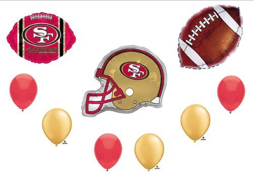 10 Ideas About 49ers Birthday Party On Pinterest