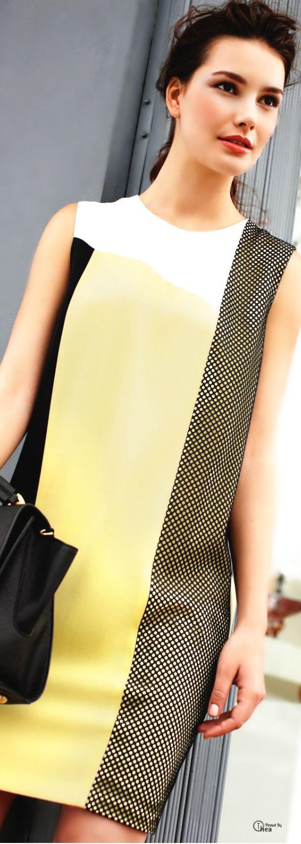DKNY ● Colorblock Dress