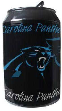 NFL Carolina Panthers 11-Liter Portable Party Can Fridge