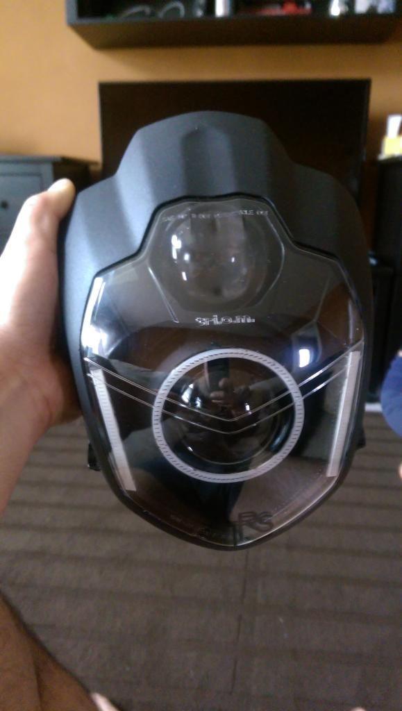Motorcycle Headlight Retrofit - LSL Urban Headlight