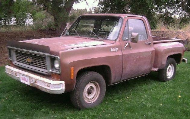 1 700 One Owner 1974 Chevrolet C10 Stepside C10 Stepside 87 Chevy Truck Trucks And Girls