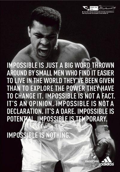 Muhammad Ali Cocky Quotes. QuotesGram
