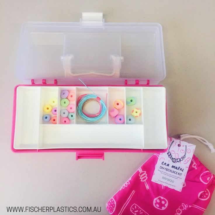 Hobby Boxes are great for organising and sorting beads and smaller items for creative projects. Storage for smaller bits and bobs is vital so that you can access things as you need them. Thanks @EnaAndAlbert for these gorgeous DIY beads, they brightened up our day.